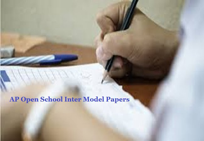AP Open School Inter Model Papers