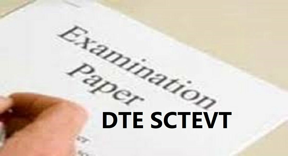 DTE SCTEVT Diploma Question Paper 2020 1st 2nd 3rd 4th 5th 6th 7th 8th Sem Sample Question Paper 2020