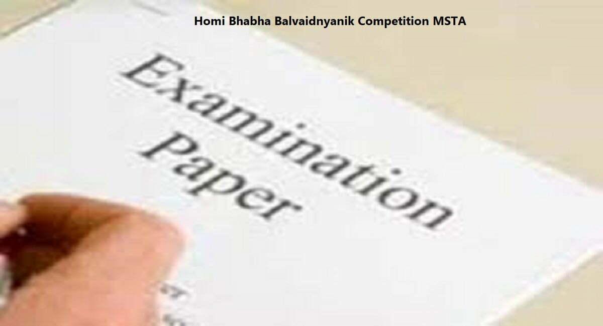 Homi Bhabha Balvaidnyanik Competition 2020 MSTA