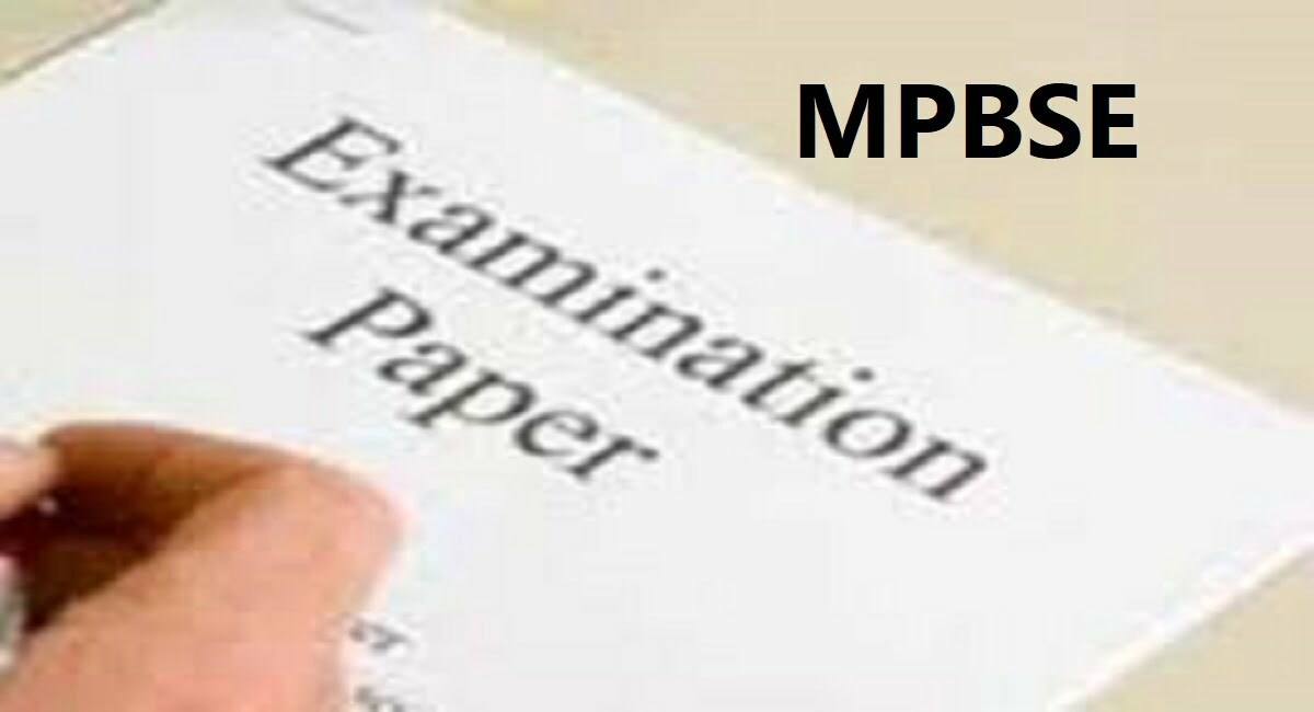 MP Board 10th Model Question Paper 2020 Blue Print