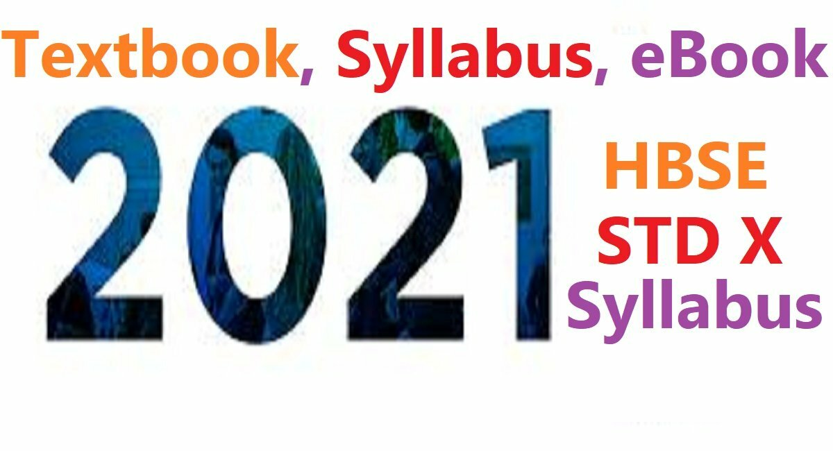 HBSE 10th Syllabus 2021 Haryana Class 10th Books 2021 BSEH X Textbook Question 2021