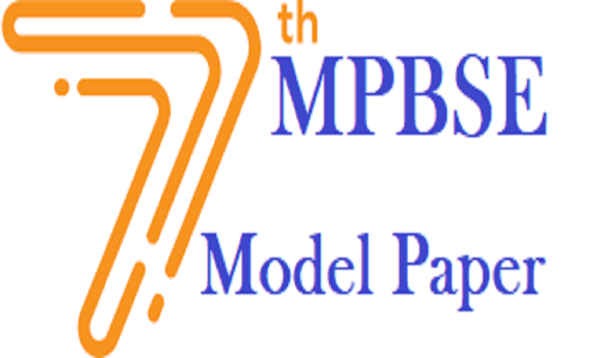 MPBSE 7th Model Paper 2021 Blueprint