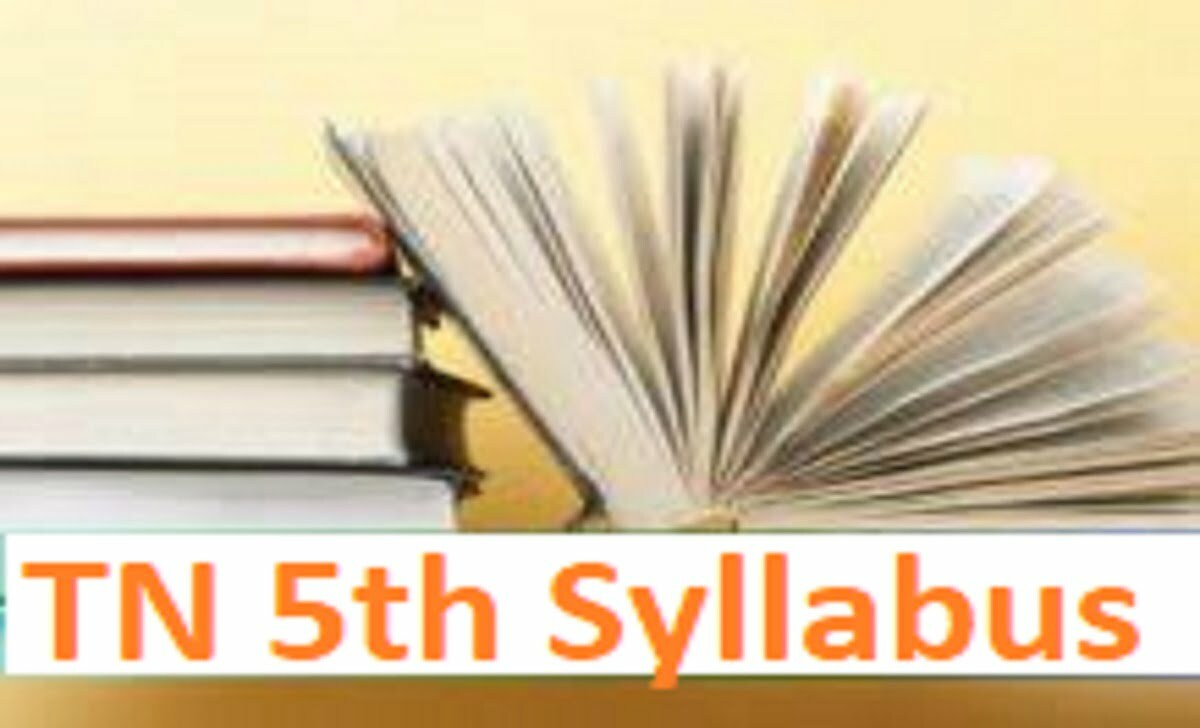 TN Board 5th Syllabus 2021 TN 5th Standard New Books 2021 T/M-E/M, Textbooks Online eBooks