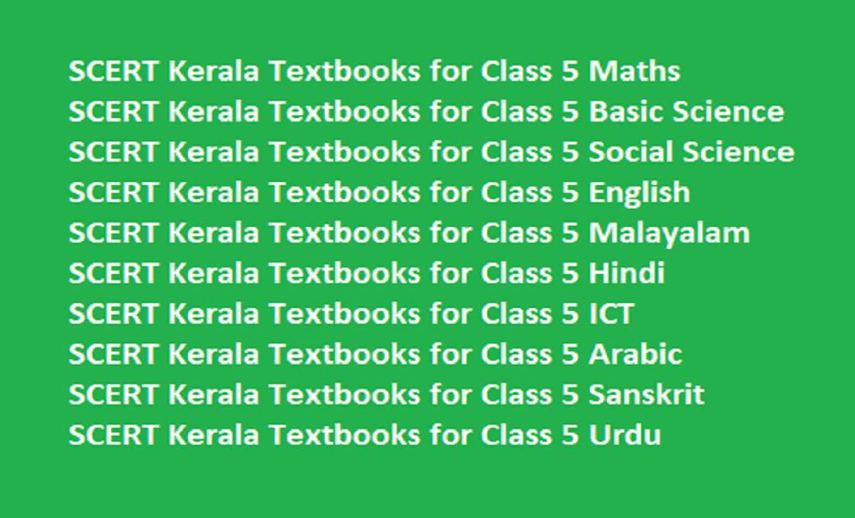 Kerala SSLC Syllabus 2021 Kerala 10th Book 2021 Kerala X Textbook 2021