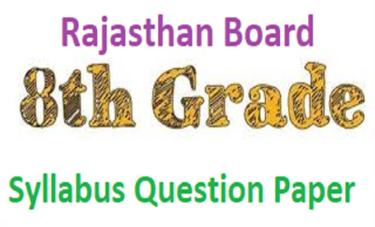 RBSE Board 8th Syllabus 2021 Raj Board 8th Textbook 2021